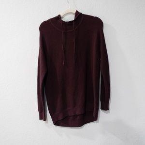 Athleta Purple Hooded Sweater Size Small